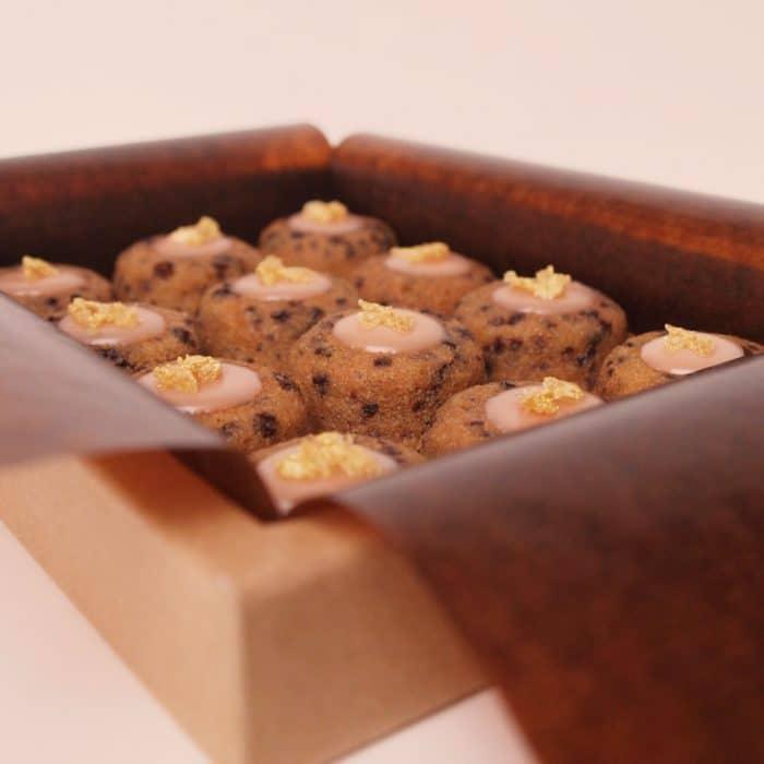 financier amandes bio pamplemousse gingembre chocolat dessert pâtisserie petits fours