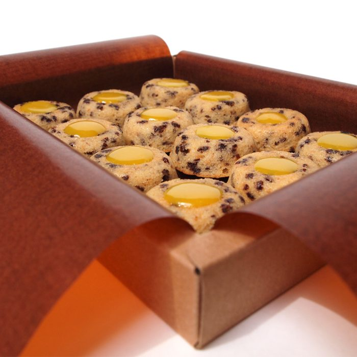 financier lucien gateau amandes bio chocolat blanc ananas rhum patisserie paris montreuil