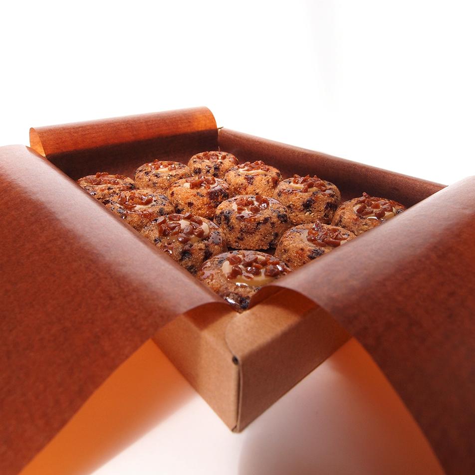 financier Lucien gateau amandes bio chocolat dulcey caramel au beurre salé