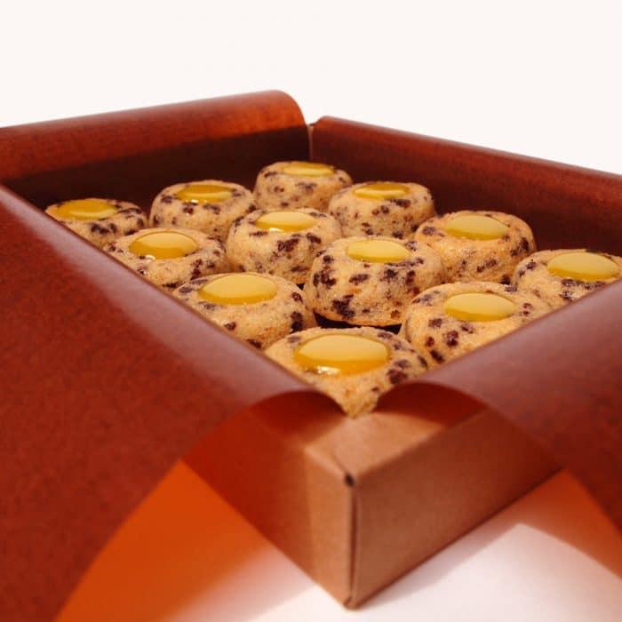 lucien financier amande citron chocolat gâteau pâtisserie