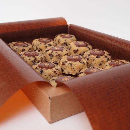 lucien financier amandes bio chocolat lait valrhona fruit de la passion patisserie paris