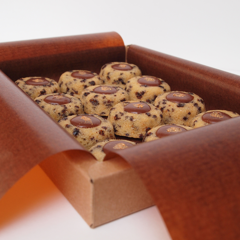 lucien financier amandes bio chocolat lait valrhona fruit de la passion patisserie paris