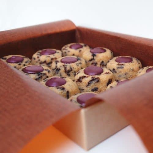 Financier lucien amandes bio cassis chocolat blanc gateau dessert patisserie