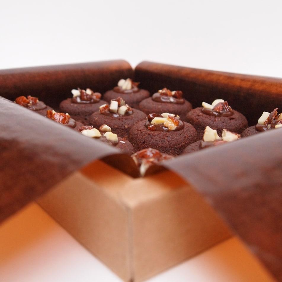 financier lucien chocolat praliné amande gateau patisserie