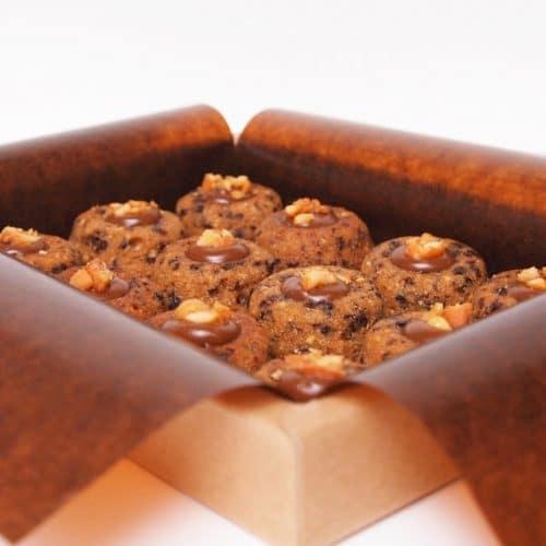 Lucien financier chocolate peanut cake dessert pastry