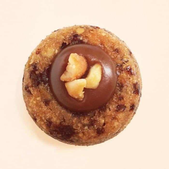 lucien financier amande chocolat cacahuète gâteau dessert pâtisserie