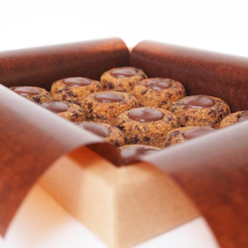 lucien financier hazelnut chocolate organic dessert pastry cake